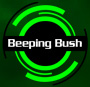 beeping bush logo and link back to home page