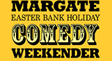 Margate Easter Bank Holiday Comedy Weekender logo and link to website info